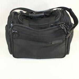 Briggs & Riley Travelware Travel Duffle Bag Black Carry On