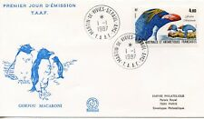 FDC / T.A.A.F. TERRES AUSTRALES TIMBRE N° 92 / FAUNE /