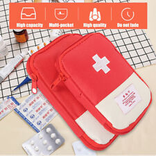 First Aid Bag Emergency Carry Pouch Portable Travel Medicine Package Bags