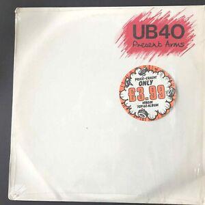 "UB40 ORIGINAL VINYL LP * PRESENT ARMS * 1981 * 8 TRACKS & 12""  Single"