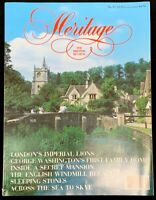Heritage Magazine The British Review No. 29 (august/september) 1989 Travel Mag