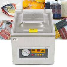 Commercial Vacuum Sealing Packing Machine Tabletop Automatic Sealer Chamber New