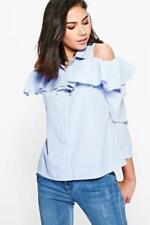 Camisas y tops de mujer de manga larga color principal azul Talla 40