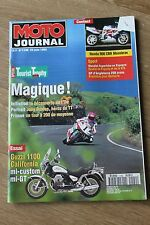 MOTO JOURNAL N°1140 GUZZI 1100 CALIFORNIA HONDA CBR 900 DUNLOP TOURIST TROPHY 94