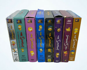 THE SIMPSONS - COLLECTOR'S EDITION   SEASONS 1-4,6,7,9,10  