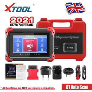 XTOOL D7 Auto OBD2 Scanner Full System Diagnostic ECU Coding 24 Service Function