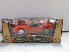 Bburago 1998 Chevrolet Corvette Convertible 1/18