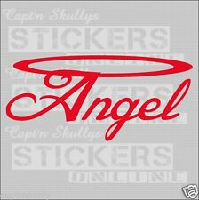 ANGEL&HALO DECAL 205x95mm Capt'n Skullys Stickers Online and MPN 1121 M/PURPOSE