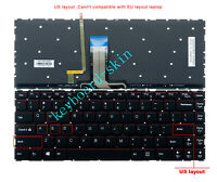 Original New Lenovo Y40,Y40-70,Y40-70AT-IFI,Y40-80 Keyboard US backlit non-frame