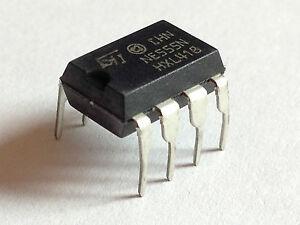 5x NE555P Timer   555 universeller Zeitgeber DIP8   5 Stück