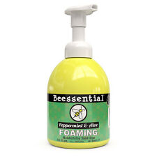 Beessential Natural Peppermint Essential Oil  Foaming Soap