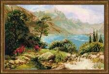 "Counted Cross Stitch Kit RIOLIS - ""Mountain Lake"""