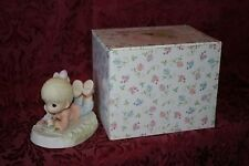 Precious Moments 2002 # Pm0031 Blessed With Small Miracles Figurine W/ Box