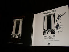 Peter Yarrow Noel Paul Stookey signed Peter Paul and Mary Fifty Years 1/1 book