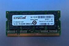 Crucial 1GB PC2700 DDR 333 SO-DIMM Laptop Memory Module, CT12864X335