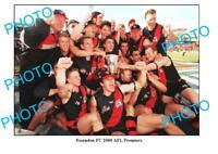 8x6 PHOTO THE 2000 ESSENDON FC PREMIERSHIP TEAM HIRD SHEEDY LLOYD etc