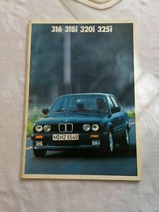 BMW 316, 318i, 320i, 325i, CATALOGUE