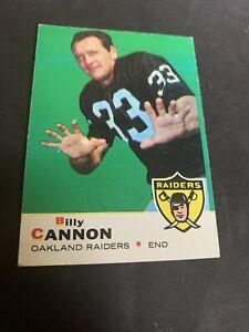 1969 Topps Football #68 Billy Cannon EX Raiders LSU Heisman Set Break