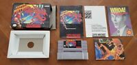 Super Metroid - Super Nintendo SNES Samus Game CIB Complete Box Book Manual lot!