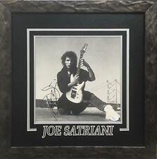 JOE SATRIANI AUTOGRAPHED ALBUM SLEEVE FRAMED