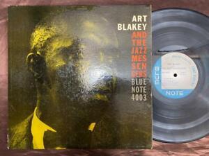 "ART BLAKEY MOANIN' BLUE NOTE BLP 4003 RVG EAR DG NO ""R"" MONO US VINYL LP"