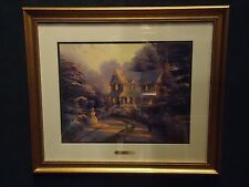 THOMAS KINKADE, HOME IS WHERE THE HEART IS III, NIGHT BEFORE CHRISTMAS PRINT,NEW