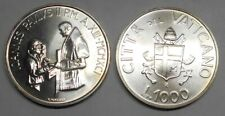 2.661 FDC VATICANO 1000 Lire 1991 AG