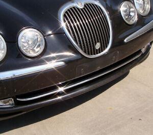 Jaguar S-Type 1999 to 2004 front bumper moulding