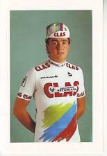 CYCLISME carte cycliste JOSE MANUEL OLIVEIRA BOGA équipe CLAS 1989