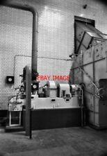 PHOTO  1983 HAMPTON WATERWORKS INDUCED DRAUGHT FAN. STEAM TURBINE POWERED FAN. T