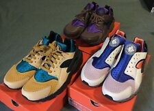 Lot of 3 Nike Air Huarache ACG Mowabb pack quickstrike 2007 doetan cream 9.5