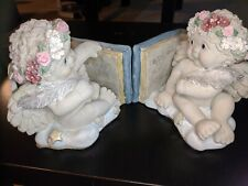 "Dreamsicles Collectibles ""Cherub Bookends-Boy"" #10404"