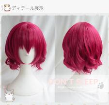 Anime Akatsuki no Yona Wig Pretty Princess Short Rose Hair Costume Cosplay Wigs