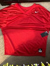 Nike Core Practice Football Jersey Mens Red 864923 018 Xl X-Large New 852345 657