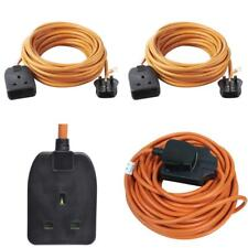 Outdoor Power Socket Extension Lead 1 One Gang 10A 10M Master Cable Plug