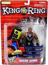 WWF D'Lo Brown King of the Ring Wrestling Action Figure NIB JAKKS Pacific WWE