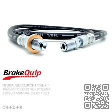 BRAKEQUIP CLUTCH HOSE KIT [1965-68 HOLDEN HD-HR SERIES WITH 3 SPEED CRASHBOX]