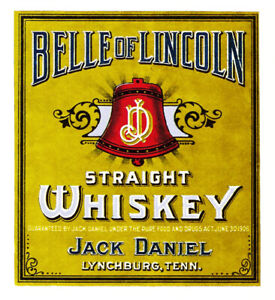 Belle of Lincoln  whiskey
