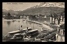 OAS-CNY #336 LUZERN SWITZERLAND 1906 BUY 2 OR MORE COMBINED SHIPPING IS FREE
