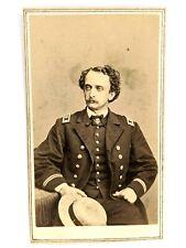 New listing Original Civil War CdV Union Navy Officer Soldier Photo Military Uniform Antique