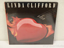 LINDA CLIFFORD My Heart's On Fire FACTORY SEALED LP Red Label ST 73104 (1985)