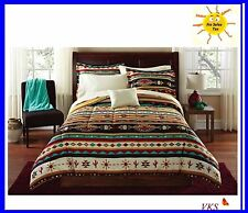 Queen Bedding Set Comforter Bed In A Bag 8 Pieces Southwest American Native New