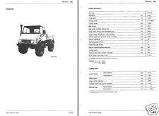 Unimog truck 4 wheel drive manual all terrain vehicle Mercedes-Benz Daimler 4X4