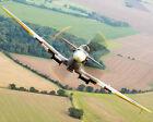 Внешний вид - RAF SUPERMARINE SPITFIRE OVER CONINGSBY 11x14 SILVER HALIDE PHOTO PRINT
