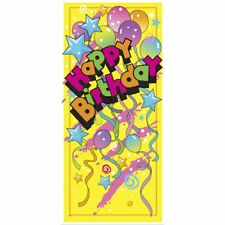 Unique HAPPY BIRTHDAY Door Banner Poster Kids Adult Party Decoration Accessory
