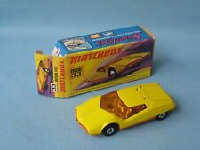 Lesney Matchbox Superfast 33 Datsun 126X Yellow Body NO Ribs on the Base Boxed