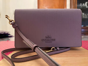 Coach Hayden Foldover Crossbody Shoulder Bag 89674 Soft Lilac