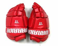"New Warrior Fatboy box lacrosse goalie gloves 14"" red Lax indoor senior goal"