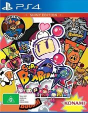 Super Bomberman R Shiny Edition PS4 Playstation 4 Game New Sealed In Stock