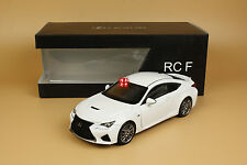1/18 Lexus RCF RC F white color + gift